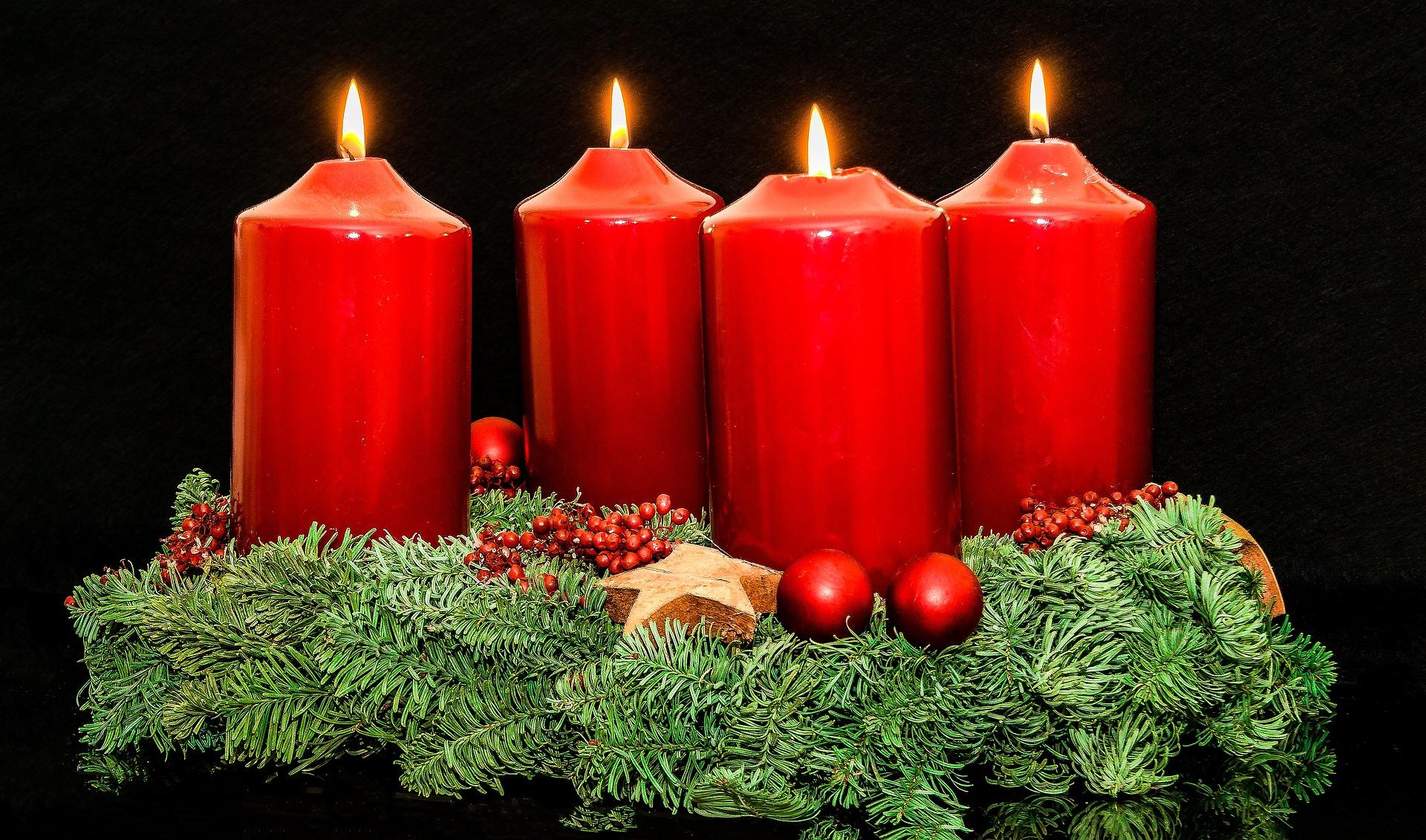 Pourquoi allume-t-on des bougies avant noël? 2