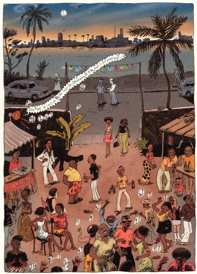 Aya de Yopougon de Marguerite Abouet et Clément Oubrerie (Gallimard)